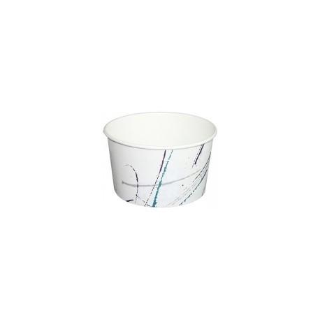 Pot à glace en carton