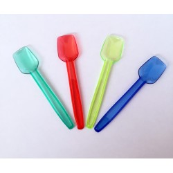 Petites Cuillères à glace plastique