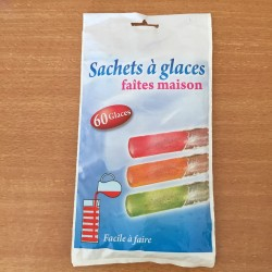 Sachets bâtonnets de glace type Mr Freeze