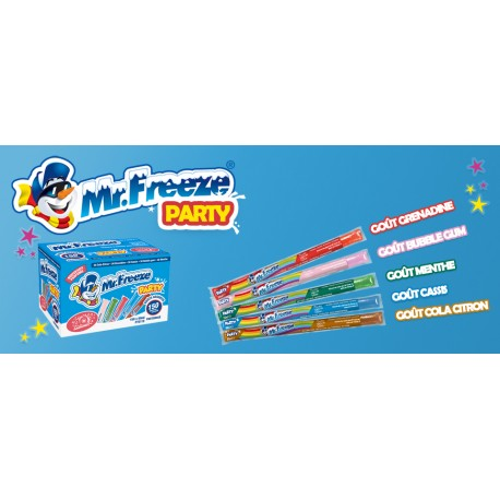 5 Mister freeze mega box 50 ml