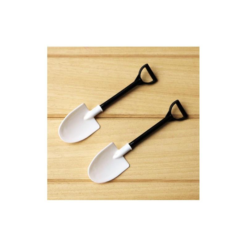 Petite cuillère à glace en forme de Pelle idéal pour manger vos ...